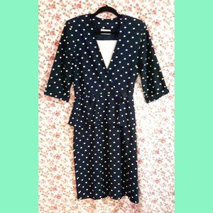 Vintage Tradition Made in Canada Plus Peplum Dress